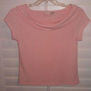 Merona light pink blouse
